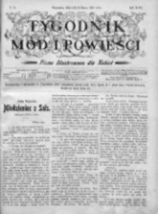 Tygodnik Mód i Powieści. Pismo ilustrowane dla kobiet 1905, Nr 12