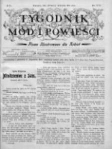 Tygodnik Mód i Powieści. Pismo ilustrowane dla kobiet 1905, Nr 13