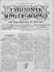 Tygodnik Mód i Powieści. Pismo ilustrowane dla kobiet 1905, Nr 14