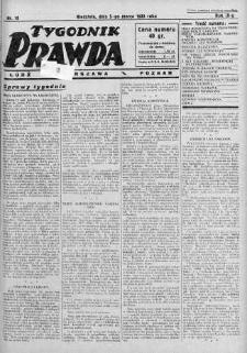Tygodnik Prawda 5 marzec 1933 nr 10