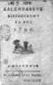 Kalendarzyk kieszonkowy 1799
