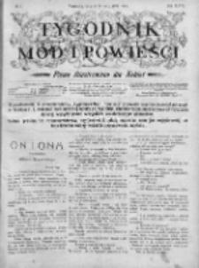 Tygodnik Mód i Powieści. Pismo ilustrowane dla kobiet 1906, Nr 2