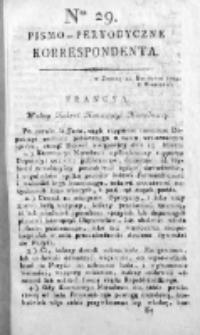 Korespondent Warszawski Donoszący Wiadomości Krajowe i Zagraniczne 1794, Nr 29