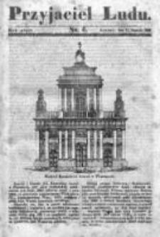 Przyjaciel Ludu czyli Tygodnik potrzebnych i pożytecznych wiadomości 1838/39, R.5, nr 6