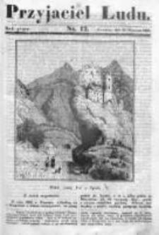Przyjaciel Ludu czyli Tygodnik potrzebnych i pożytecznych wiadomości 1838/39, R.5, nr 12