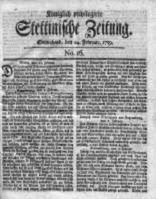 Stettinische Zeitung. Königlich privilegirte 1759, Nr 16