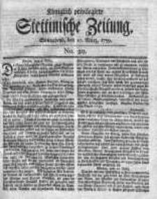 Stettinische Zeitung. Königlich privilegirte 1759, Nr 20