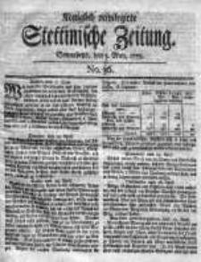 Stettinische Zeitung. Königlich privilegirte 1759, Nr 36