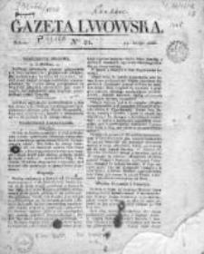 Gazeta Lwowska 1838, Nr 21