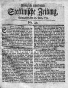 Stettinische Zeitung. Königlich privilegirte 1759, Nr 42