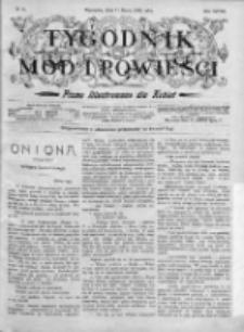 Tygodnik Mód i Powieści. Pismo ilustrowane dla kobiet 1906, Nr 10