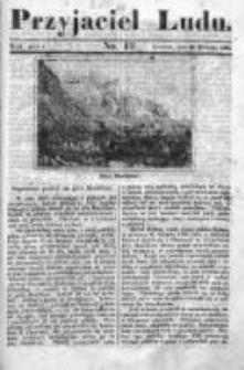 Przyjaciel Ludu czyli Tygodnik potrzebnych i pożytecznych wiadomości 1838/39, R.5, nr 42