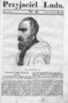 Przyjaciel Ludu czyli Tygodnik potrzebnych i pożytecznych wiadomości 1838/39, R.5, nr 45