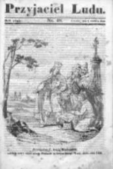 Przyjaciel Ludu czyli Tygodnik potrzebnych i pożytecznych wiadomości 1838/39, R.5, nr 48