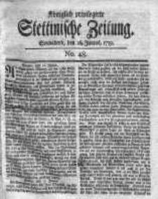 Stettinische Zeitung. Königlich privilegirte 1759, Nr 48