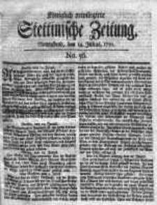 Stettinische Zeitung. Königlich privilegirte 1759, Nr 56