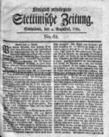 Stettinische Zeitung. Königlich privilegirte 1759, Nr 62
