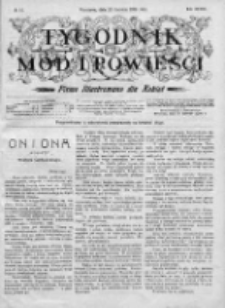 Tygodnik Mód i Powieści. Pismo ilustrowane dla kobiet 1906, Nr 24