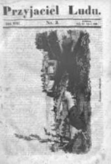 Przyjaciel Ludu czyli Tygodnik potrzebnych i pożytecznych wiadomości 1841/42, R.8, nr 3
