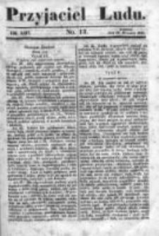 Przyjaciel Ludu czyli Tygodnik potrzebnych i pożytecznych wiadomości 1841/42, R.8, nr 13