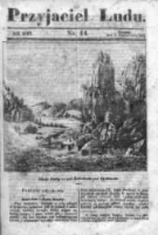 Przyjaciel Ludu czyli Tygodnik potrzebnych i pożytecznych wiadomości 1841/42, R.8, nr 14