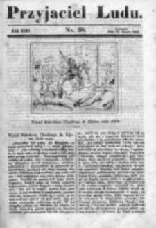Przyjaciel Ludu czyli Tygodnik potrzebnych i pożytecznych wiadomości 1841/42, R.8, nr 38