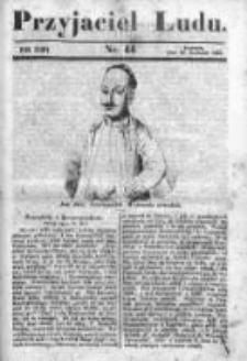 Przyjaciel Ludu czyli Tygodnik potrzebnych i pożytecznych wiadomości 1841/42, R.8, nr 44