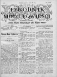 Tygodnik Mód i Powieści. Pismo ilustrowane dla kobiet 1906, Nr 43