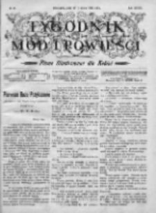 Tygodnik Mód i Powieści. Pismo ilustrowane dla kobiet 1906, Nr 49