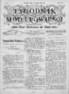 Tygodnik Mód i Powieści. Pismo ilustrowane dla kobiet 1906, Nr 51