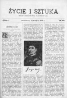 Życie i Sztuka. Pismo dodatkowe, ilustrowane 1904, Nr 28