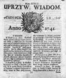 Uprzywilejowane Wiadomości z Cudzych Krajów 1741, Nr 242