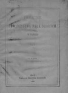 Pamiętnik Towarzystwa Nauk Ścisłych w Paryżu, 1879, T.11