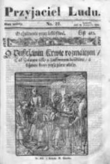 Przyjaciel Ludu czyli Tygodnik potrzebnych i pożytecznych wiadomości 1839/40, R.6, nr 22
