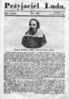 Przyjaciel Ludu czyli Tygodnik potrzebnych i pożytecznych wiadomości 1839/40, R.6, nr 25