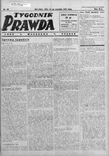 Tygodnik Prawda 24 grudzień 1933 nr 52