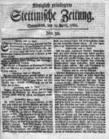 Stettinische Zeitung. Königlich privilegirte 1760, Nr 32