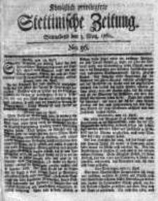 Stettinische Zeitung. Königlich privilegirte 1760, Nr 36