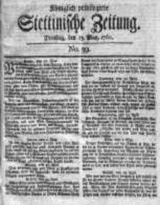 Stettinische Zeitung. Königlich privilegirte 1760, Nr 39