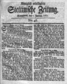 Stettinische Zeitung. Königlich privilegirte 1760, Nr 46