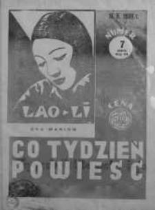 Co Tydzień Powieść 16 luty 1939 nr 7