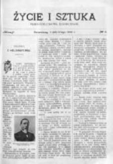 Życie i Sztuka. Pismo dodatkowe, ilustrowane 1905, Nr 6