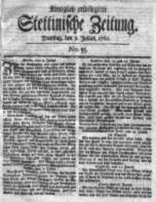 Stettinische Zeitung. Königlich privilegirte 1760, Nr 55