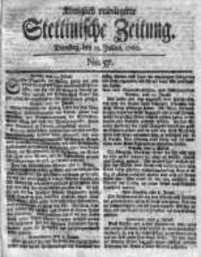 Stettinische Zeitung. Königlich privilegirte 1760, Nr 57