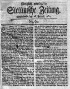 Stettinische Zeitung. Königlich privilegirte 1760, Nr 60