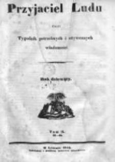 Przyjaciel Ludu czyli Tygodnik potrzebnych i pożytecznych wiadomości 1842/43, R.9, nr 27