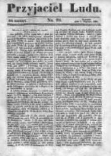 Przyjaciel Ludu czyli Tygodnik potrzebnych i pożytecznych wiadomości 1842/43, R.9, nr 28