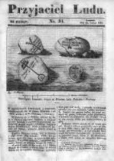 Przyjaciel Ludu czyli Tygodnik potrzebnych i pożytecznych wiadomości 1842/43, R.9, nr 34