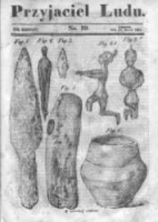 Przyjaciel Ludu czyli Tygodnik potrzebnych i pożytecznych wiadomości 1842/43, R.9, nr 39