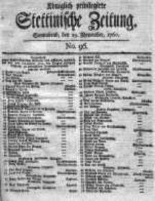 Stettinische Zeitung. Königlich privilegirte 1760, Nr 96